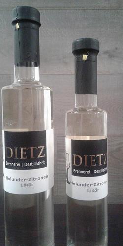 Holunder-Zitronen Likör